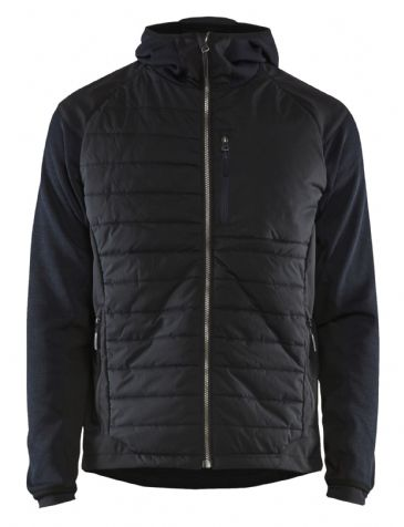 Blaklader 5930 Padded Hybrid Jacket (Dark Navy / Black)